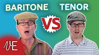 Difference between a TENOR and a BARITONE | with Mark Baxter | #DrDan width=