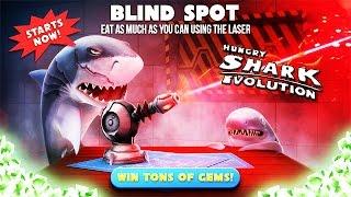 Hungry Shark Evolution - New Blind Spot Laser Live Event