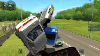 getlinkyoutube.com-City Car Driving BIG Crash