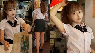 getlinkyoutube.com-McDonald's Goddess The Latest In Taiwanese Fetishized Fast Food Culture