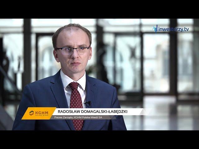 KGHM Polska Miedź SA, Radosław Domagalski-Łabędzki - Prezes Zarządu, #77 PREZENTACJE WYNIKÓW