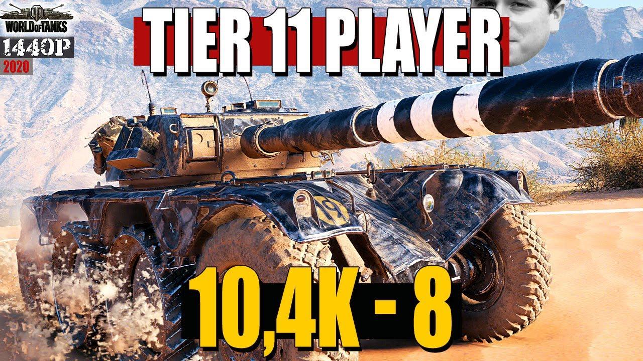 Panhard EBR 105: Tier 11 player^^ +10k