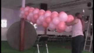 getlinkyoutube.com-decoracion con globos (arco de entrada)