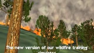 Vulcain 3.0 wildfire firefighter training simulator