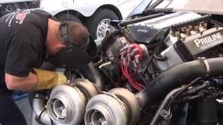getlinkyoutube.com-3000+ hp Twin Turbo CADILLAC vs 3000+ hp Twin Turbo CORVETTE