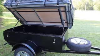 getlinkyoutube.com-Motorcycle Camper Trailers Brisbane