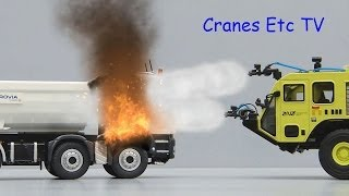 getlinkyoutube.com-TWH Oshkosh Striker 3000 ARFF 'Algarve 07' by Cranes Etc TV
