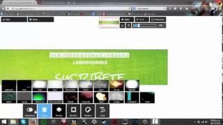 getlinkyoutube.com-TUTORIAL|Como hacer un banner profesional sin programas? 2014 2015 YO TE AYUDO :D