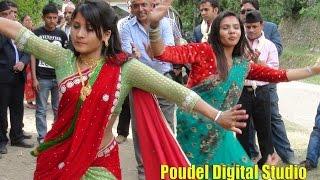 getlinkyoutube.com-एस्तो रमाइलो पो गर्नुपर्छ बिहे मा जन्त जादा wedding of bishnu aryal gulmi