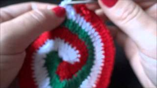 getlinkyoutube.com-Crochê Espiral 3 cores