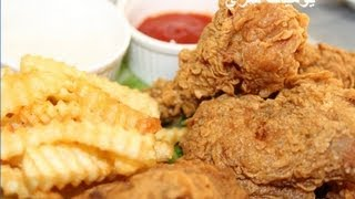 getlinkyoutube.com-يوميات شري عمل دجاج كنتاكي المقرمش او الدجاج المقلي .