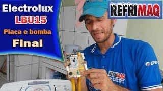 getlinkyoutube.com-Problema placa e bomba lavadora electrolux LBU15 - FINAL