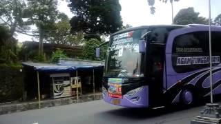 getlinkyoutube.com-Klakson  Bus AGAM TUNGGA JAYA di Tawangmangu