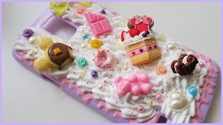 getlinkyoutube.com-Decoden Creamy Whip Phone Case || Watch Me Craft