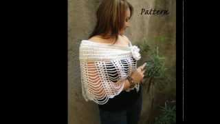 getlinkyoutube.com-CROCHET SHAWL, SCARF AND BAG PATTERN NEW COLLECTION