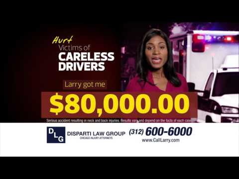 Hurt by a Careless Driver? Call the Disparti Law Group!