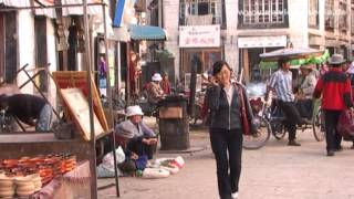 getlinkyoutube.com-Lhasa, Street Life, Tibet - China Travel Channel