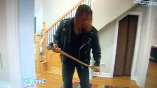 getlinkyoutube.com-Triple H vs Randy Orton in Ortons House