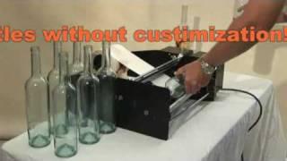 getlinkyoutube.com-Bottle-Matic bottle  labeling machine, bottle labeler.