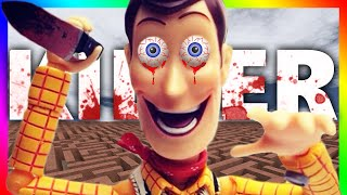 getlinkyoutube.com-KILLER TOY STORY!?!? | Gmod Horror Maze (WOODY AND BUZZ LIGHTYEAR ATTACK)