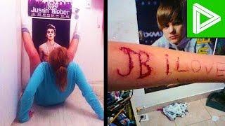 getlinkyoutube.com-10 INSANE Justin Bieber Fans You Won't Believe Exist!