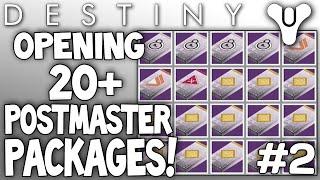 getlinkyoutube.com-Destiny: Opening 20+ Postmaster Packages Live! (Dead Orbit Rank 10 Package) Ep#2
