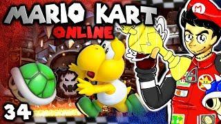 getlinkyoutube.com-Smarty Rage Quits! (Mario Kart 8 Online: The Derp Crew - Part 34)