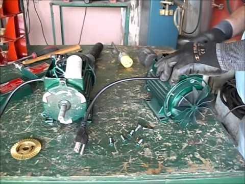 Cambio de rotación motor monofásico