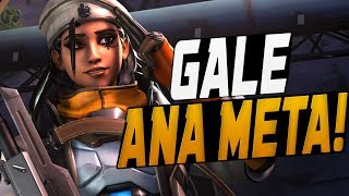 GALE DOMINATING AS NEW ANA! 40 ELIMS! [ OVERWATCH SEASON 10 TOP 500 ]
