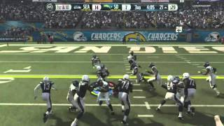 getlinkyoutube.com-Madden 16-Beast Mode Unstoppable! :: Chargers Vs. Seahawks - XBOX ONE Madden NFL 16 Online Gameplay