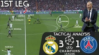 How Zidane's Genius Substitutions Earned Real Madrid The Comeback Win Against PSG: Tactical Analysis