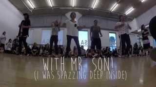 getlinkyoutube.com-Son Sung Deuk USA Workshop Tour | L.A Session Two | I NEED U by BTS (BTS)
