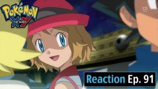 getlinkyoutube.com-Pokemon XY Anime Reaction Ep. 91 -The Crisis in Kalos! The Battle of the Giant Sundial!!