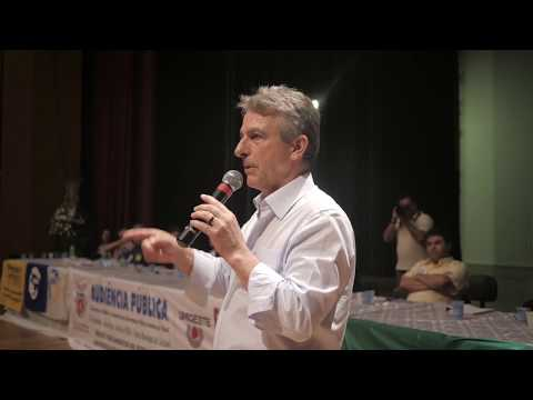 Tadeu Veneri em debates pelo interior do Estado