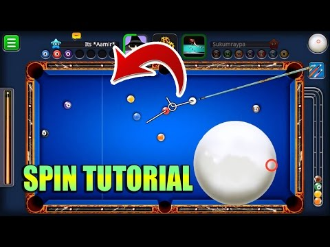 8 Ball Pool- SPIN TUTORIAL- How To Use Spin The Perfect Way