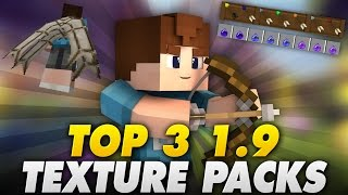 getlinkyoutube.com-TOP 3 1.9 PVP TEXTURE PACKS! - Minecraft | LetsPhil
