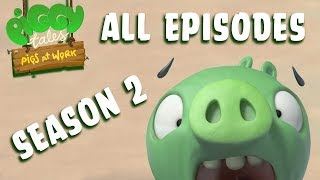 Angry Birds   Piggy Tales   Pigs at Work - All Episodes Mashup - Season 2