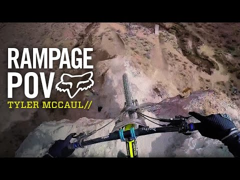 Tyler McCaul's Qualifying Run From 2015 Rampage