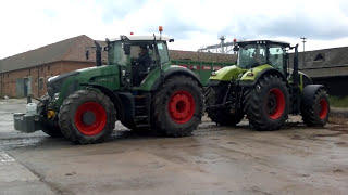 Claas Axion 930 vs Fendt 930