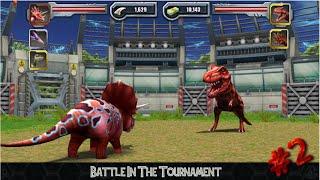 getlinkyoutube.com-Jurassic Park Builder - Battle In The Tournament #2