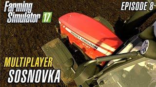 getlinkyoutube.com-Let's Play Multiplayer Farming Simulator 2017 | Sosnovka | Episode 8
