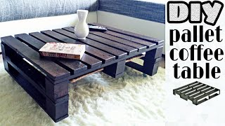 getlinkyoutube.com-DIY - pallet coffee table