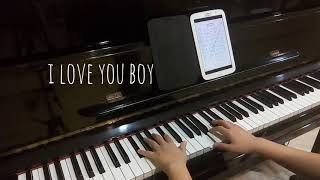 I love you boy (While you were sleeping OST) piano cover jianpu