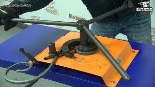 getlinkyoutube.com-Инструмент для гибки завитков M3-V1 Blacksmith