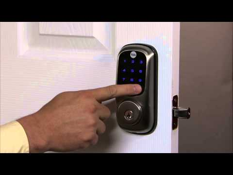 Yale Real Living Touchscreen Deadbolt Programming - Auto Re-lock 04