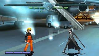 getlinkyoutube.com-[M.U.G.E.N] Naruto VS Kirito
