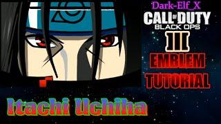getlinkyoutube.com-Black Ops 3 Emblem - Itachi Uchiha (Naruto)