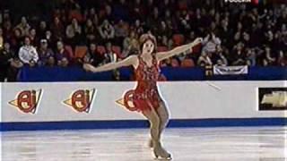 getlinkyoutube.com-Слуцкая. Чемпионат Европы 2003. Slutskaya. European championship 2003