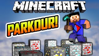 Minecraft PICKOUR  - Minecraft Parkour Map with The Pack