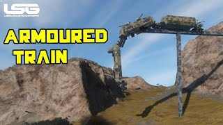 getlinkyoutube.com-Space Engineers - Armoured Train Destruction